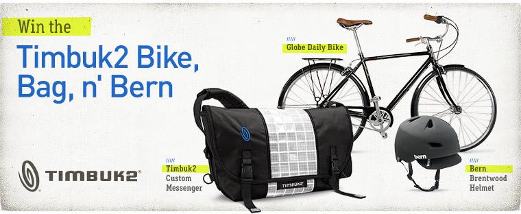 Win A Globe Bike Timbuk2 Messenger Bag And Bern Helmet Bikerumor