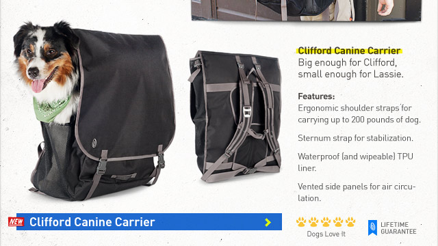 Clifford Canine Carrier features