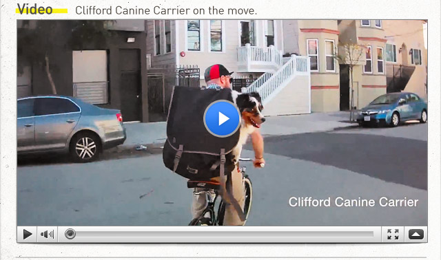 Cliffor Canine Carrier Video