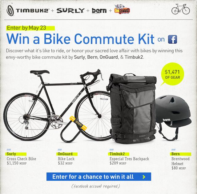 Win A 1 400 Bike Commute Kit